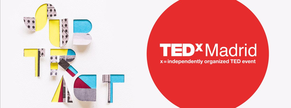 TEDxMadrid SUBTRACT Diseño De Identidad Visual